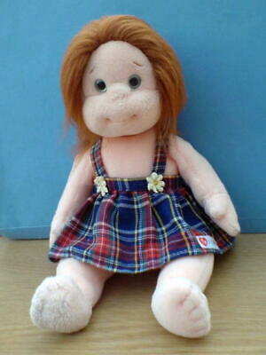 TY BEANIE KIDS GINGER Without Tag Retired Doll 2000 • 3.99£