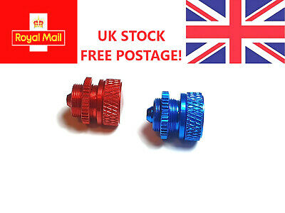 Fuel Dot Fuel Filler RED Or BLUE Anodised Aluminium UK STOCK FREE POSTAGE  • 3.64£
