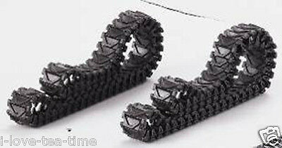 1/16 Scale One Pair Plastic Tracks Accessary Of Henglong U.S.A Sherman 3898 • 19.90£