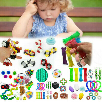 Fidget Toys Set Sensory Tools Bundle Stress Relief Hand Kids Adults Toy • 17.99£