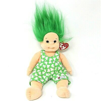 Ty Beanie Kids SHENANIGAN 1993 Girl Doll Plush  TY Gear Dungarees Swing Tag Vgc • 8.99£