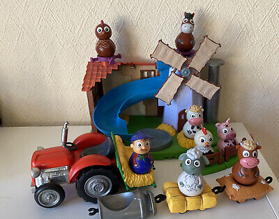 Weebles - Weebledown Farm - 8 Weebles - Tractor & Trailors • 42.99£