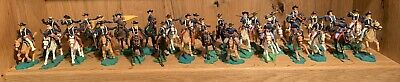 Vintage Toy Soldiers: Unionist Cavalry (Timpo, Herald, Britains, Crescent) X30 • 100£