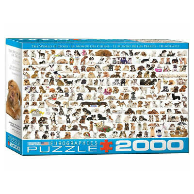 The World Of Dogs Puzzle Beautiful 2000-piece Jigsaw Puzzle  • 12.99£