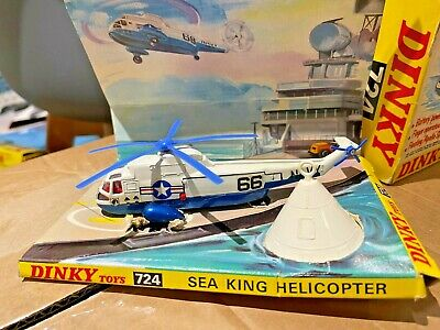 Dinky Toys 724 Original 1970's Sea King Helicopter  • 79.99£