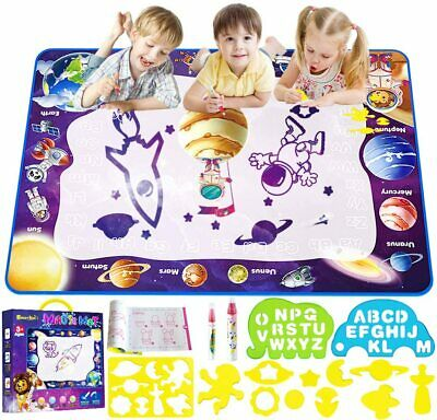 Smarkids Water Drawing Mat Aqua Magic Doodle Kids Toys Mess Multicolor  • 22.99£