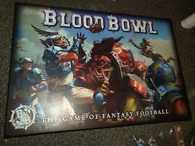 Blood Bowl Warhammer Sports Game Set With Orc Star Player • 27£