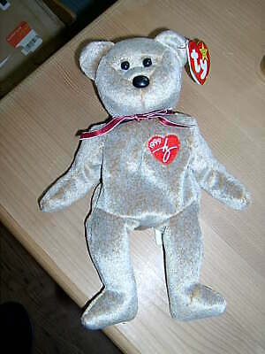 Retired TY Beanie Babies Collection Bear 1999 SIGNATURE Bear • 6.50£