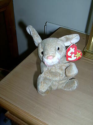 1999 TY Beanie Babies Collection Baby Rabbit  Nibbly  May 7, 1998 • 6.50£