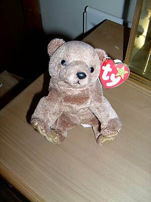 TY Beanie Babies Collection Bear  Pecan  April 15, 1999 • 6.50£