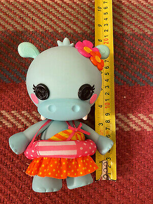 Beautiful Rare Lalaloopsy Doll Swimsuit Hippo Friend 20cm Great Cond Xmas Toy • 4.99£