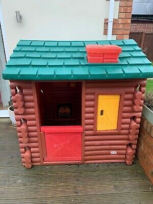 Little Tikes Log Cabin Playhouse Good Condition • 100£