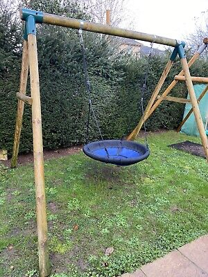 Plum Spider Monkey 11 Garden Swing Set • 150£