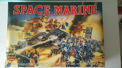 Games Workshop Epic Space Marine Game 2nd Edition Complete. • 74£