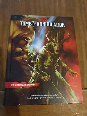 D&D Adventure Tomb Of Annihilation. 5th Ed. • 20£