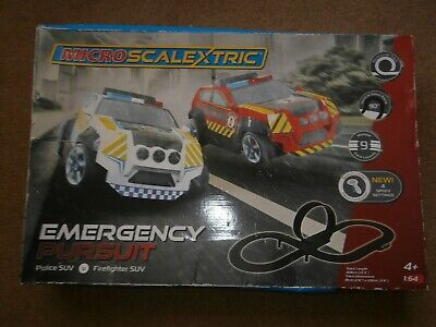 Pre 2019 Micro Scalextric Emergency Pursuit Track No Cars • 9.99£