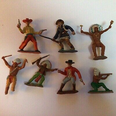 Crescent Toy Soldiers Cowboys Indians And Others • 2.99£
