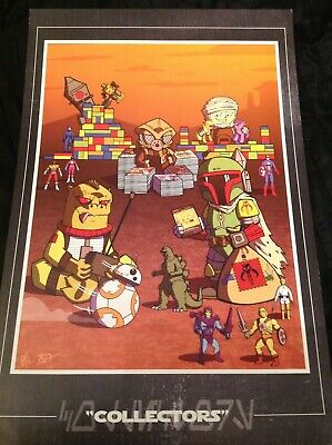 Topps Star Wars   Bounty Hunter Poster Large Card 11X17 Comic Con • 8.99£