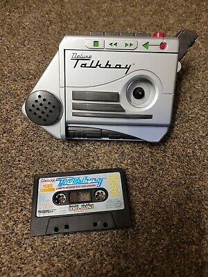 Vintage 1993 Home Alone 2 Deluxe Talkboy Voice Recorder & Cassette Fully Working • 50£
