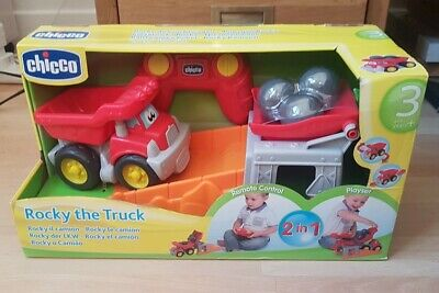 BNIB Chicco Rocky The Truck 2 In 1 Remote Control Playset Gift • 14.99£