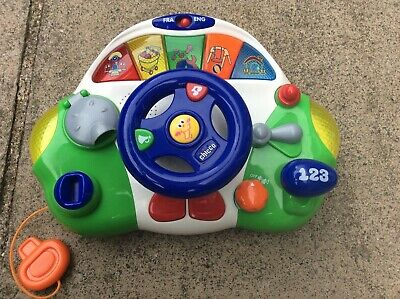 Chicco Talking Driver Toy Bilingual (English & French) • 9.99£