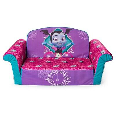 Marshmallow Furniture 2-in-1 Flip Open Couch Bed Kids Sofa,Disney's Vampirina • 87.71£