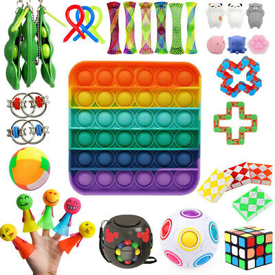22Pack Fidget Toys Set Sensory Tools Bundle Stress Relief Hand Kids Adults Toy • 21.89£