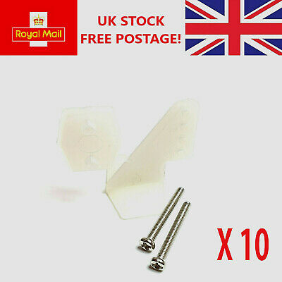 RC Plane Nylon Control Horn 25mm Pack Of 10 • 4.99£
