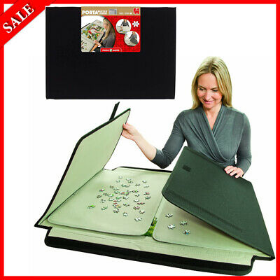 Portable Jigsaw Board Puzzle Storage Carry Safe Case Carrier 1000 Pieces NEW • 28.99£