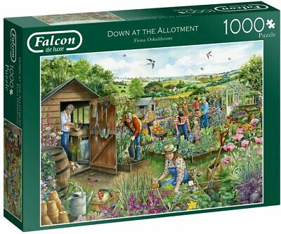 Down At The Allotment 1000 Piece Jigsaw • 13.99£