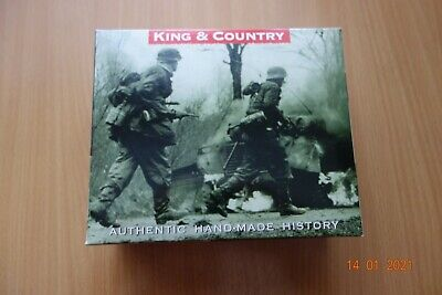 King And Country Bba23 Us Army Gi Winter Troops Sniper Team • 100£