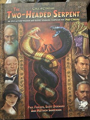 The Two Headed Serpent Campaign Book CoC • 0.99£