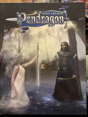 Pendragon 5.2 RPG Rulebook • 14.80£