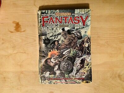 Warhammer - Fantasy Roleplay - Hardback Book 1986 ( First ? ) Collectors, Rare - • 1.20£