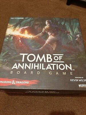 DnD Tomb Of Annihilation Board Game (Used, Great Condition, Complete) • 40£