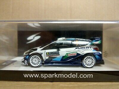 1/43 Scale SparkFord Fiesta WRC MS-RT Rally Monte Carlo 2020 E.Lappi - J.Ferm • 100£