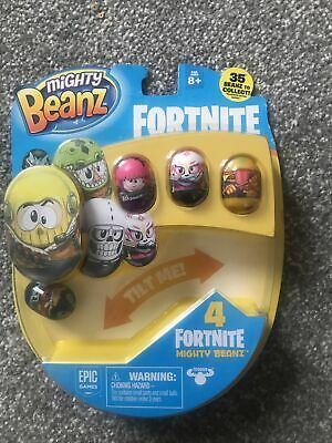 Fortnite Mighty Beanz New  4 Included Brand New • 9.59£