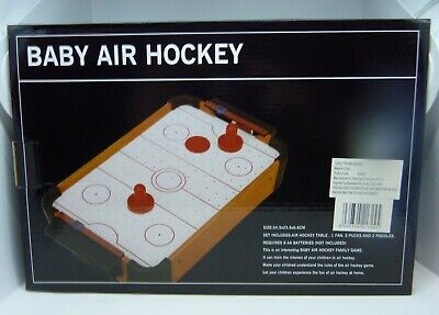 NEW/BOXED Portable Baby Air Hockey Set - 34.5x23.5x6.6cm - A Great Fun Game! • 10£