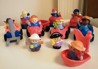 Fisher Price Little People Cars • 2.40£