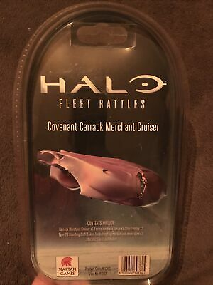Spartan Games Halo Fleet Battles Covenant Carrack Cruiser Brand New And Sealed • 60£