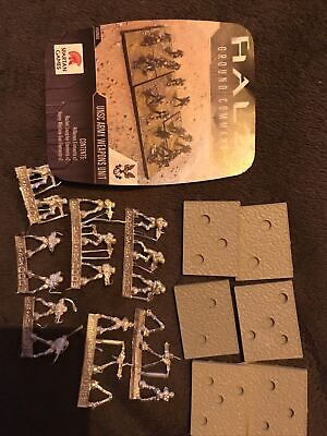Halo Ground Command - 15mm - UNSC ARMY WEAPONS UNIT - OOP • 18£