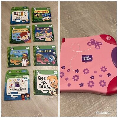 LeapFrog LeapStart & 8 Learning Books • 11.30£