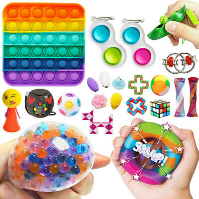 26Pack Fidget Toys Set Sensory Tools Bundle Stress Relief Hand Kids Adults Toy • 14.39£