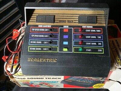 Scalextric C450 Sound Track. Rare Classic Vintage Boxed ! NO RESERVE ! • 11.49£