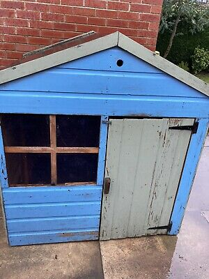 Outdoor Kids Wooden Play House • 50£