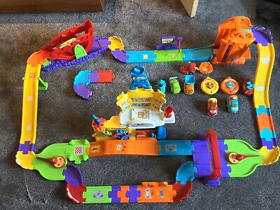 VTech Toot-Toot Drivers Super RC Raceway - Multicoloured • 25£