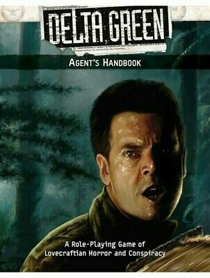 Delta Green RPG Agent's Handbook Roleplaying Game Lovecraft Arc Dream Publishing • 33.99£