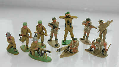 Speedwell German Soldiers + British Plastic Soldiers • 5£