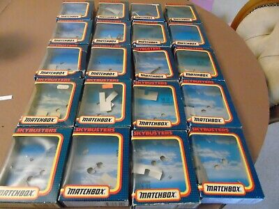 51 Matchbox Aircraft Skybusters Sky Busters Airplanes Empty Boxes See Pictures • 2.99£