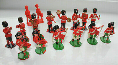Kellogg's  Lone Star British Scots Guards Bandsman Plastic Toy Soldiers Vintage • 5£